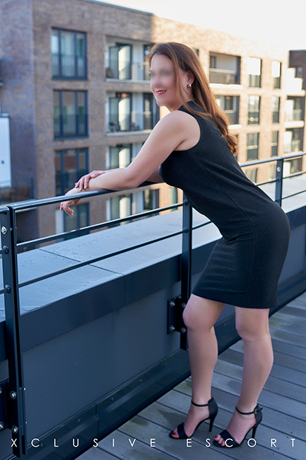 Beautiful view with Escort Hamburg Modell Hannah